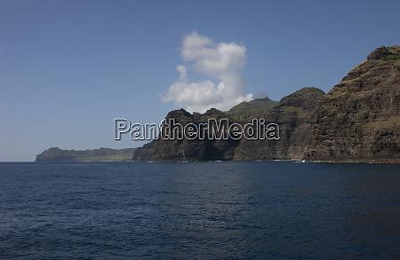 usa hawaii kauai entrance to nawiliwili