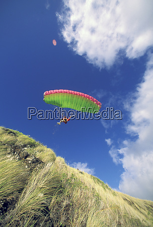 usa hawaii paraglider