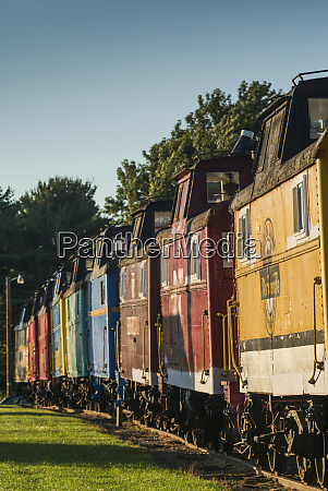 usa pennsylvania ronks red caboose motel