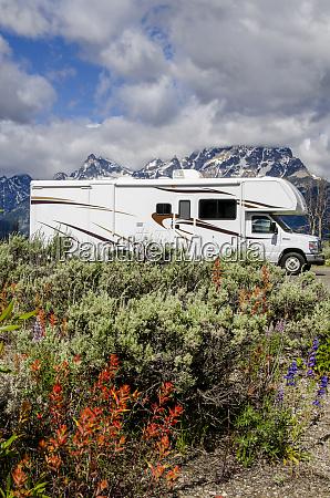 rving in grand teton national park