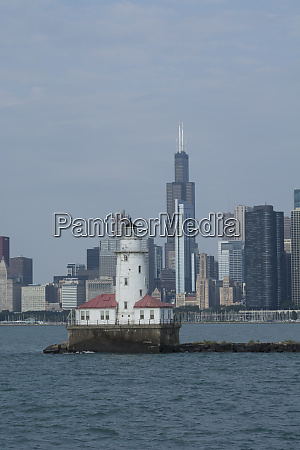 illinois chicago lake michigan historic chicago