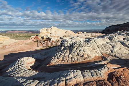 textured sandstone landscape vermillion cliffs white