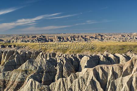 mixed prairie grasslands badlands national park