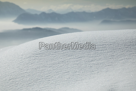 mountains and winter space for your