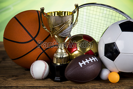 sport stadium background trophy for champion