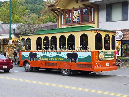 tennessee gatlinburg trolley