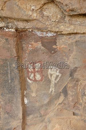 usa arizona sedona petroglyphs at the