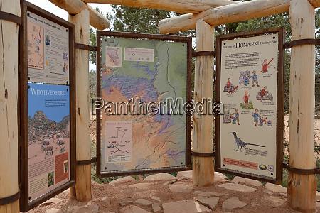 usa arizona sedona honanki heritage site