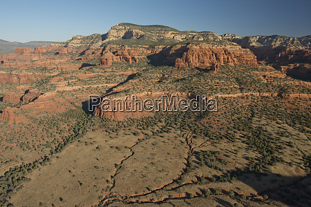 doe mesa coconino national forest from