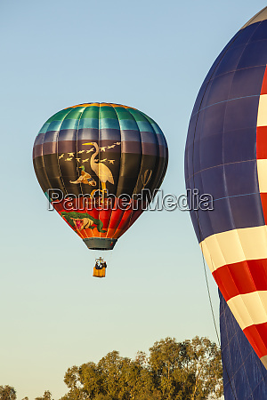 lake havasu balloon festival soaring hot