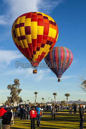 lake havasu balloon festival at the