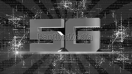 creative 5g backdrop global network