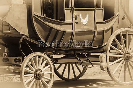 stagecoach detail tombstone arizona usa