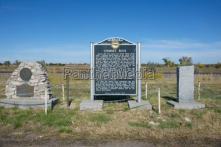 usa nebraska bayard pony express chimney
