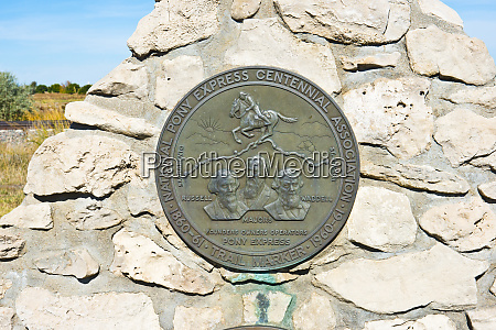 usa nebraska bayard pony express historical