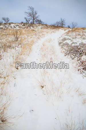 snow on the prairie