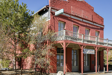 small town theater building dayton nevada