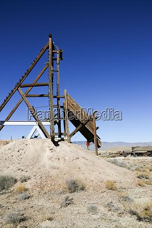 mining chute gold point nevada usa