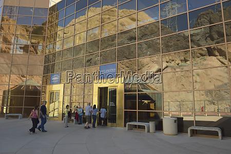 usa nevada hoover dam visitors center
