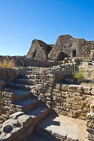 usa new mexico aztec ruins national