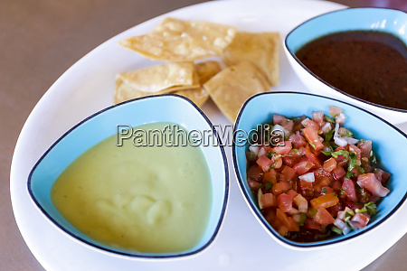 chips and salsa appetizer santa fe