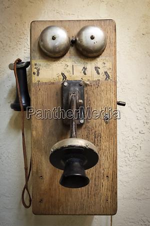 antique telephone tucumcari new mexico usa