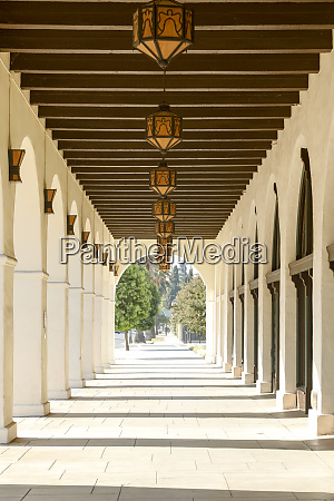 theater colonnade in riverside california