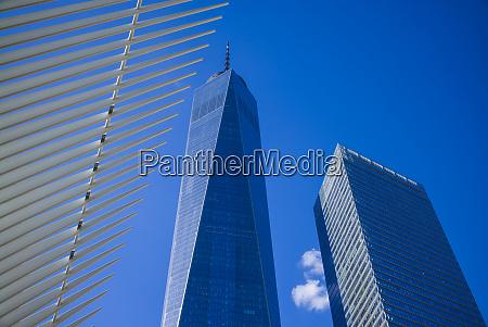 usa new york city lower manhattan