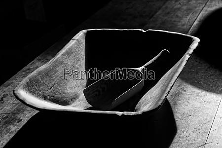 handmade wooden bowl and scoop shaker