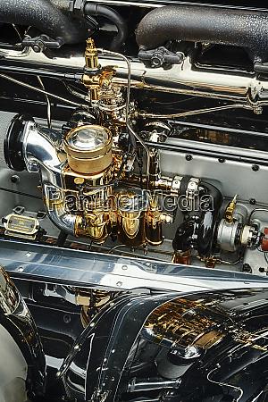 engine of 1930 rolls royce springfield