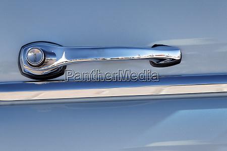 door handle on classic mercedes concours