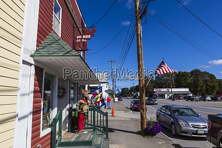 downtown patten maine