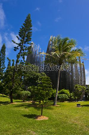tjibaou cultural center in noumea capital