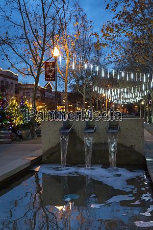 festive christmas lighting
