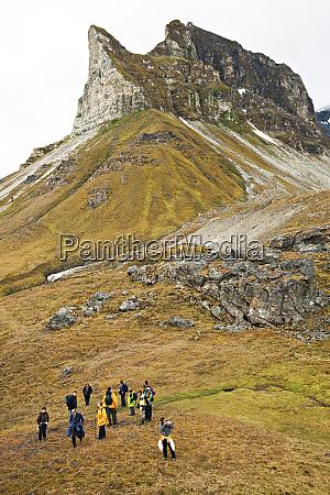 nordre isfjorden national park svalbard norway