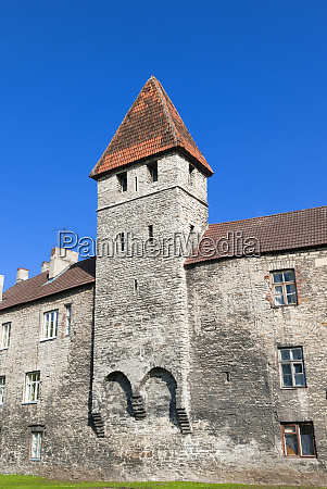 the old city walls of the