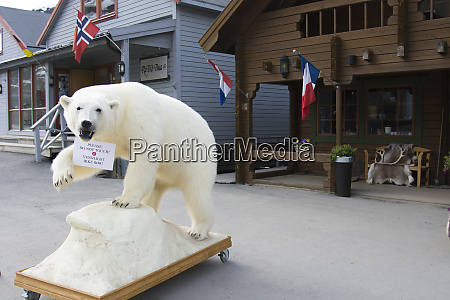 norway svalbard longyearbyen shop with a