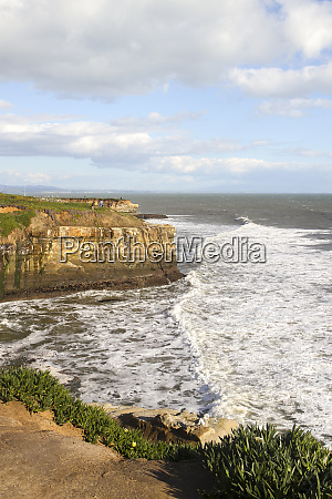a view from west cliff drive