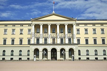 norway oslo royal palace