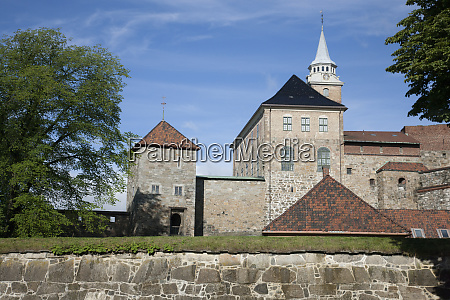 medieval castle built to protect and