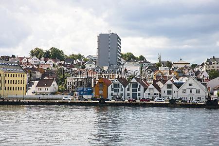 harbor area of stavanger peninsula that