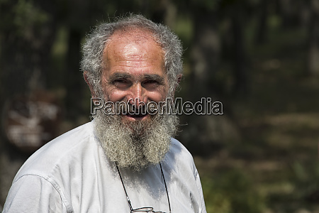 man with beard eastern serbia
