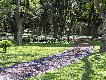 retiro plaza san martin park buenos