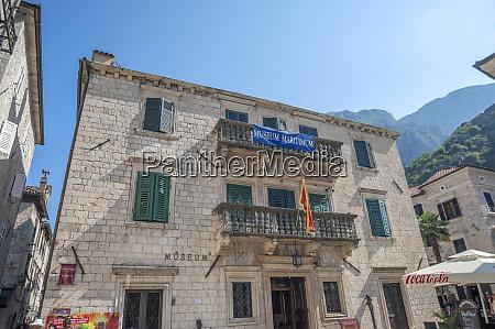 maritime museum old town kotor montenegro