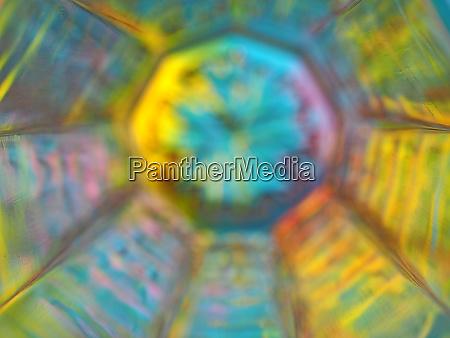 glass background blurred