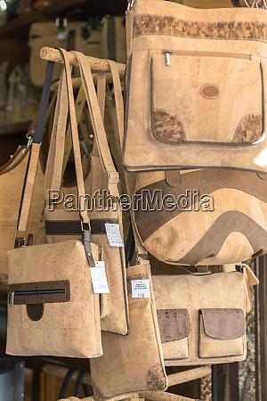 portugal evora cork handbags for sale