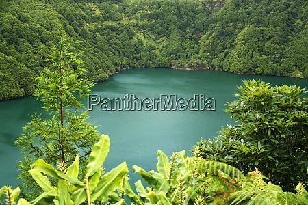 portugal azores sete cidades lakes