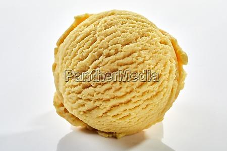 scoop of vanilla ice cream in