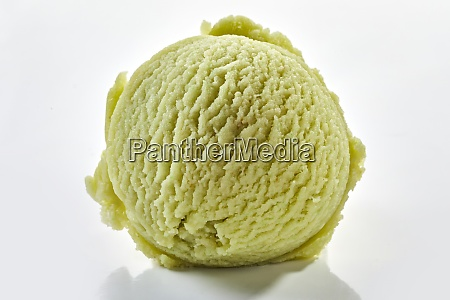 close up on scoop of herbal