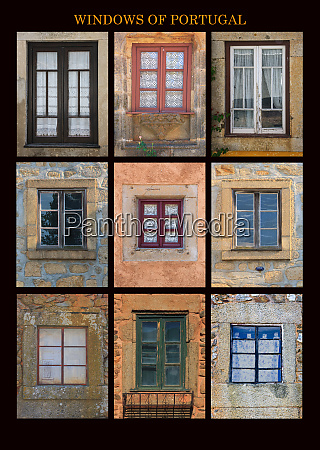 this poster captures interesting windows found